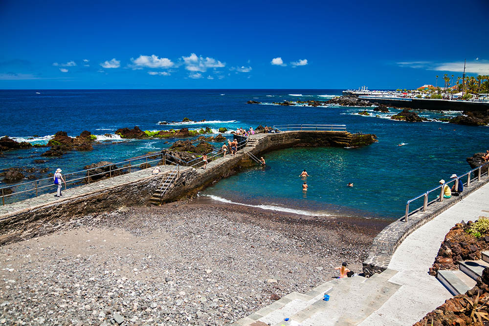 Playas de Tenerife: Playa de San Telmo Puerto de la Cruz Tenerife