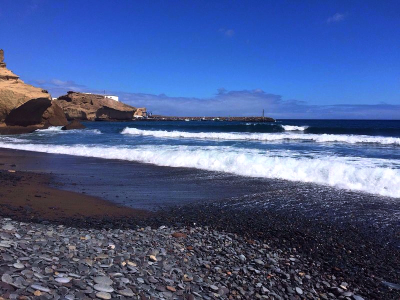 Playas de Tenerife: Playa de Tajao San Miguel de Tao Arico Tenerife