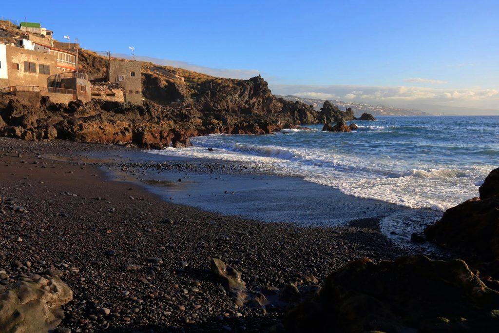 Playas de Tenerife: Playa de la Viuda Candelaria Tenerife