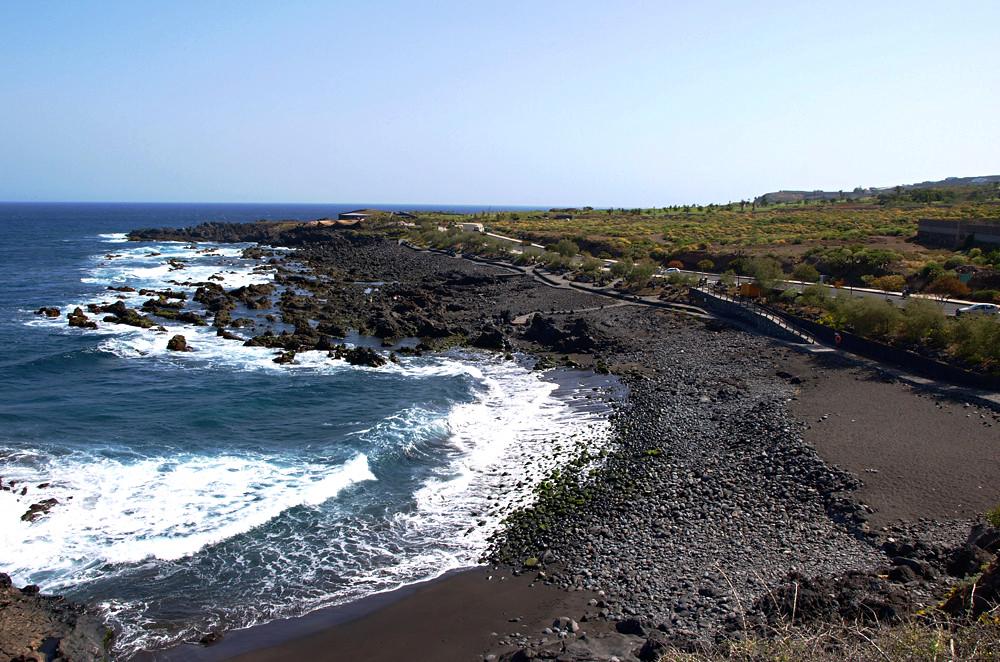 Playas de Tenerife: Playa de las Arenas Buenavista del Norte Tenerife