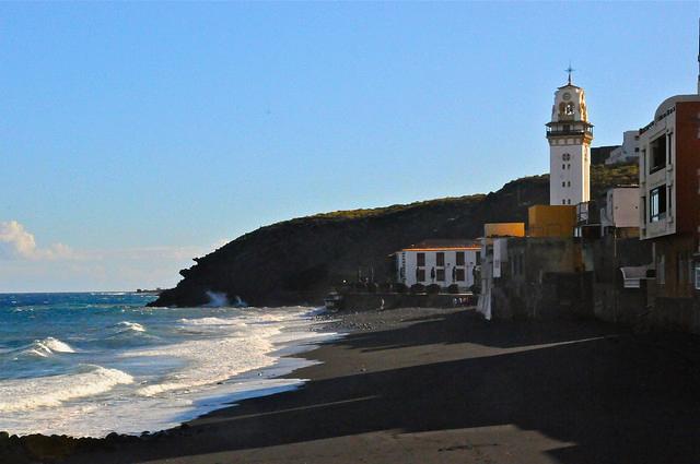 Playas de Tenerife: Playa de las Arenas Candelaria Tenerife