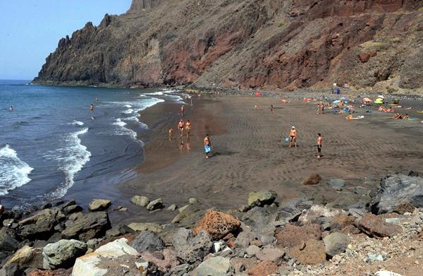Playas de Tenerife: Playa de las Gaviotas Santa Cruz de Tenerife Tenerife