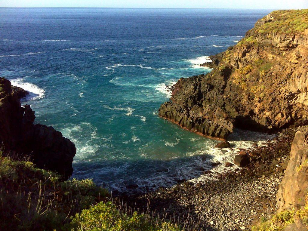Playas de Tenerife: Playa de los Barqueros Buenavista del Norte Tenerife