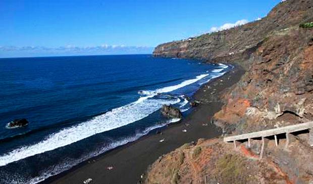 Playas de Tenerife: Playa de los Patos Playa Martinez Alonso El Rincon La Orotava Tenerife