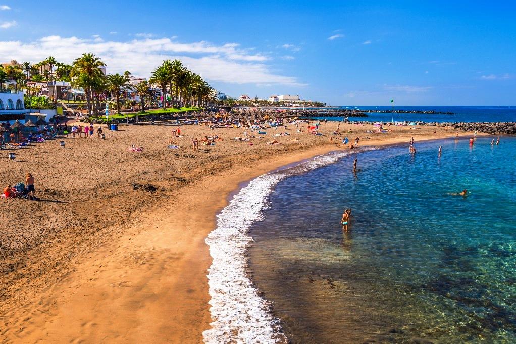 Playas de Tenerife: Playa del Bobo Costa Adeje Tenerife