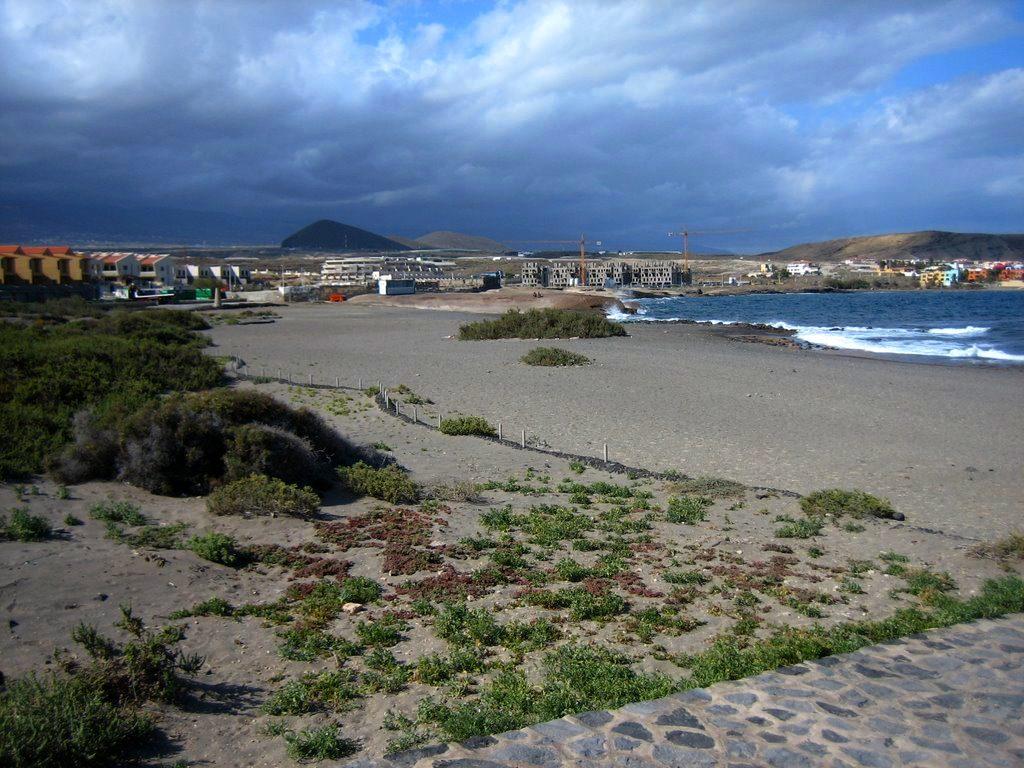 Playas de Tenerife: Playa del Cabezo El Medano Granadilla de Abona Tenerife