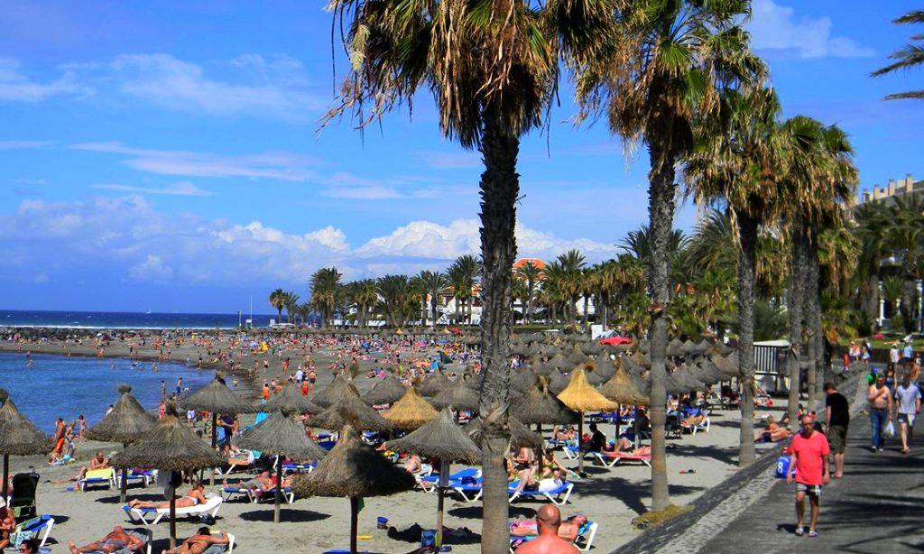 Playas de Tenerife: Playa del Camison Playa de las americas Tenerife