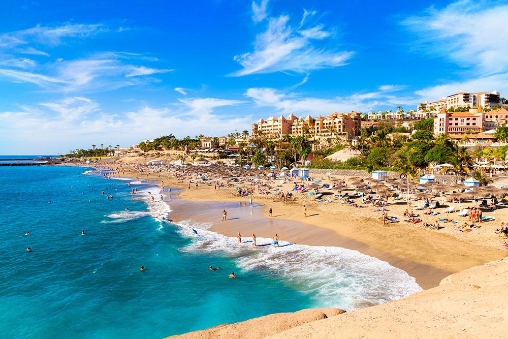 Playas de Tenerife: Playa del Duque Costa Adeje Tenerife