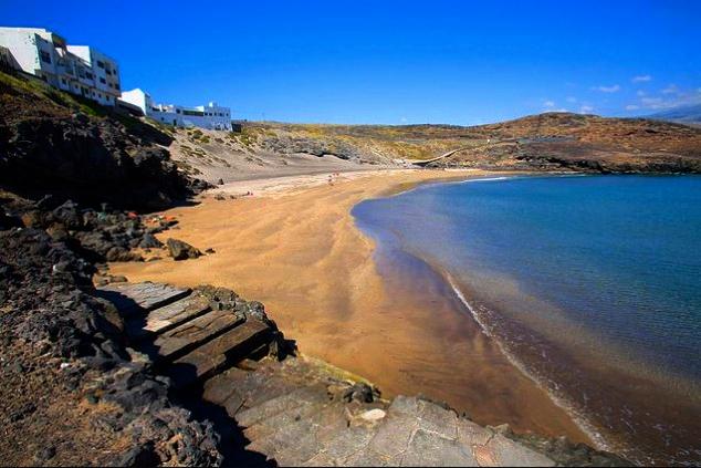 Playas de Tenerife: Playa del Poris El Poris de Abona Arico Tenerife
