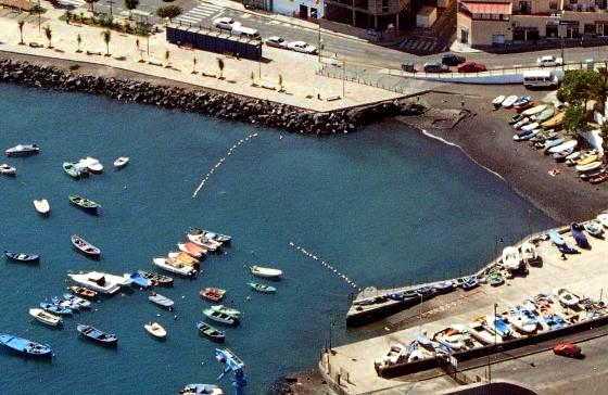 Playas de Tenerife: Playa del Pozo Candelaria Tenerife
