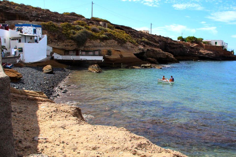 Playas de Tenerife: Playa del Puertito Adeje Tenerife