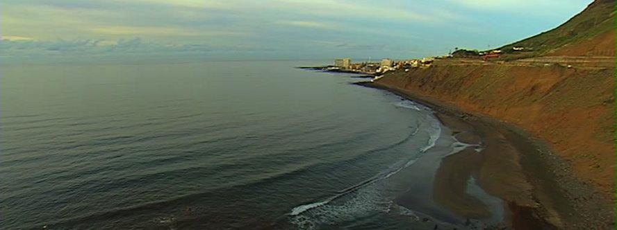 Playas de Tenerife: Playa del Roquete Punta del Hidalgo Tenerife