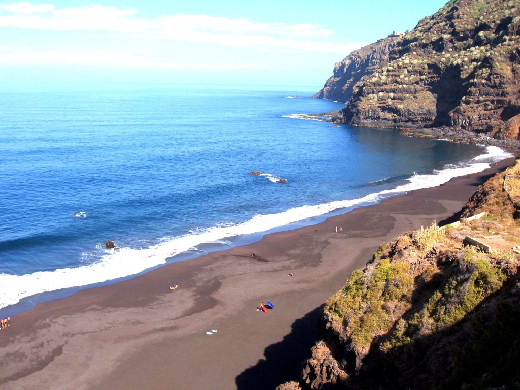 Playas de Tenerife: Playa el Ancon El Rincon La Orotava Tenerife