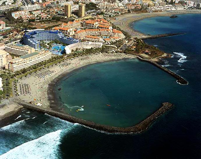 Playas de Tenerife: Playa el Cabezo Grande Las Americas Tenerife