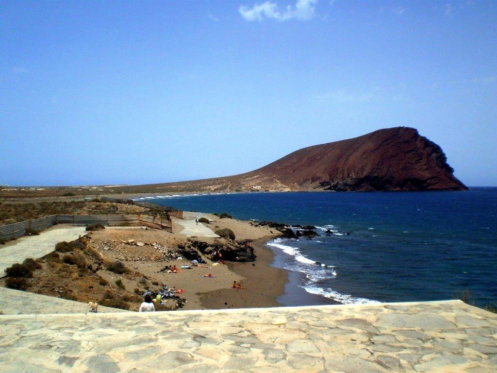 Playas de Tenerife: Playa el Confital El Medano Granadilla de Abona Tenerife