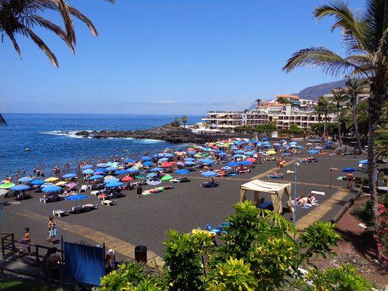 Playas de Tenerife: Playa La Arena Tacoronte Tenerife