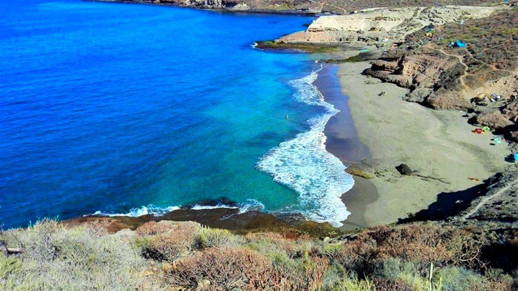 Playas de Tenerife: playa la caleta tenerife