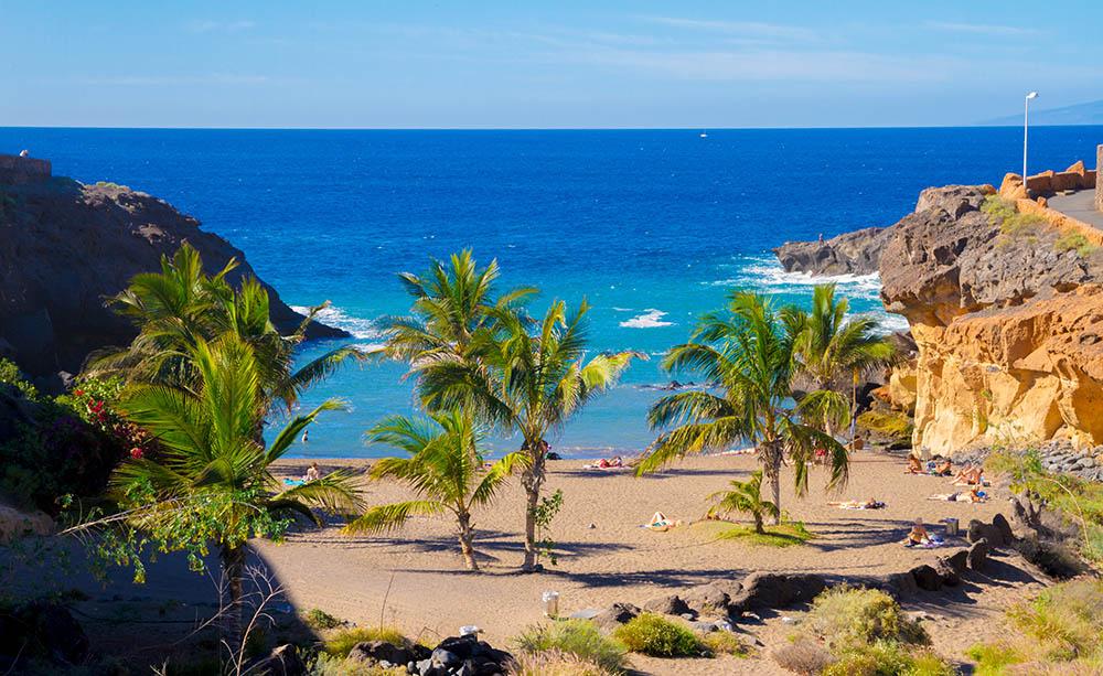 Playas de Tenerife: Playa de las Galgas Playa Paraíso Adeje Tenerife