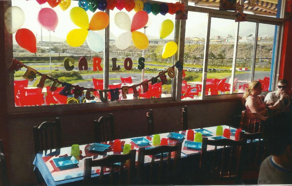 Tenerife con niños: celebracion de cumpleaños Karting Club Tenerife