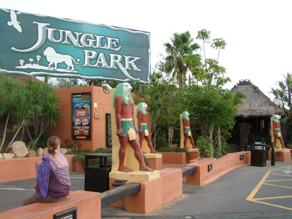 Tenerife con niños: entrada a Jungle Park Tenerife