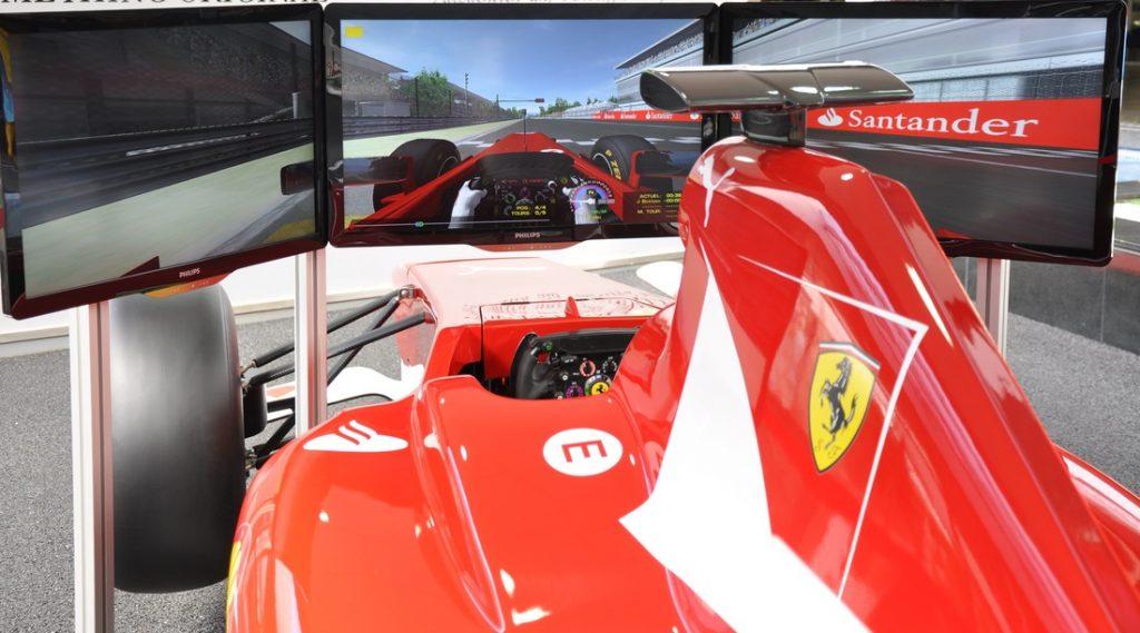Tenerife con niños: simulador Ferrari Karting Club Tenerife