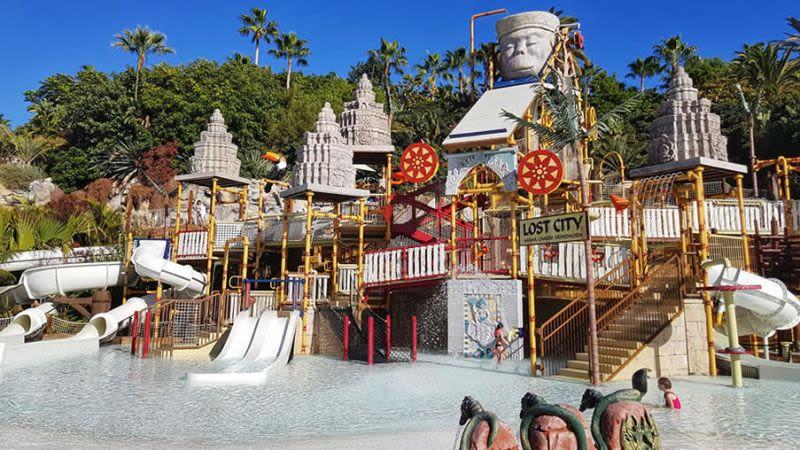 Tenerife con niños: The Lost City Siam Park
